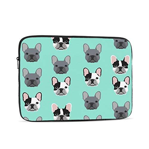 Frenchie Dog Protective Laptop Case,Laptop Case Bag for 10 Inch, 12 Inch, 13 Inch, 15 Inch, 17 Inch