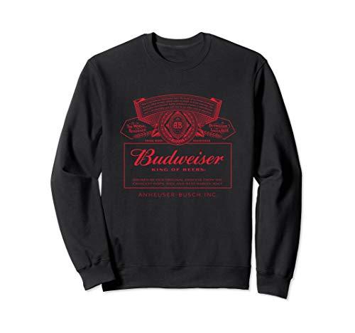 Budweiser Can Label Sweathshirt