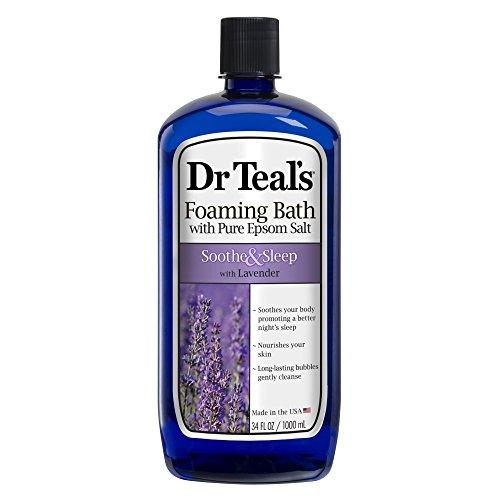 Dr Teal's Foaming Bath, Soothe & Sleep 34 oz (Pack of 3)