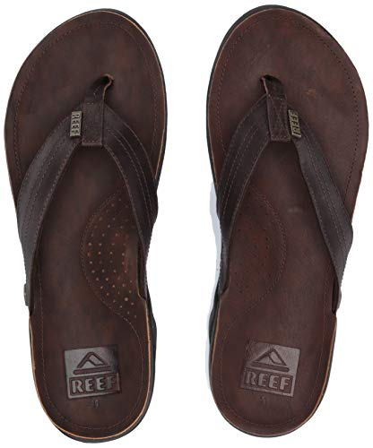 Reef Herren J-Bay Iii Flipflop, Dark Brown/Dark Brown, 42 EU