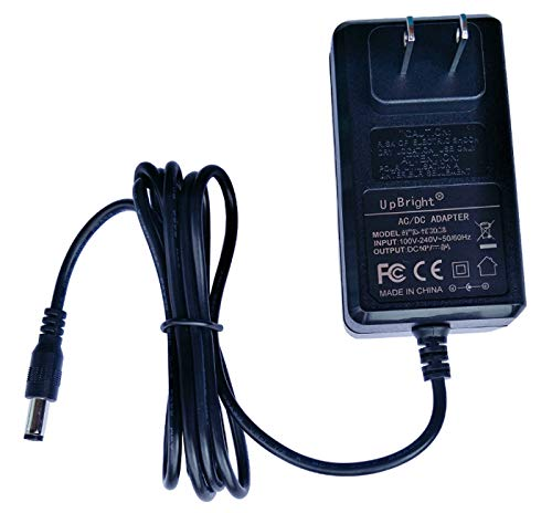 UpBright 12V AC/DC Adapter Compatible with Element 19 22 24 Inch ELEFW195 ELETT221 ELEFW221D Eleft222 ELEFW247 Auvio PBT1000 DYS40-120250W-1 4000437 SFQ-05 SFQ-09 SFQ-02 AS300-120-AA250 12VDC 2.5A PS