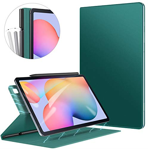 Ztotop Case for Samsung Galaxy Tab S6 Lite 10.4 inch 2020, Strong Magnetic Ultra Slim Minimalist Case, Two-Fold Stand Cover with Auto Sleep/Wake Function for Galaxy S6 Lite Tablet SM-P610/P615, Green