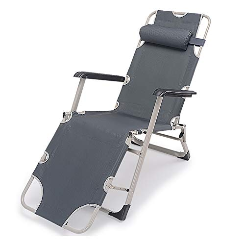 Klappbarer Klappstuhl Liegestuhl, Liege Siesta Büro Mittagspause Stuhl Klappbett Siesta Stuhl Strandkorb im Freien