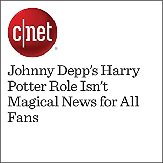 『Johnny Depp's Harry Potter Role Isn't Magical News for All Fans』のカバーアート