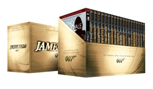 James Bond 007 - Collector's Box-Set [Collector's Edition] [21 DVDs]