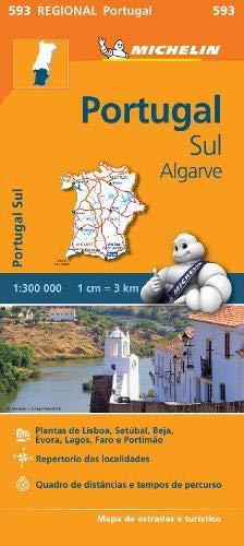Mapa Regional Portugal Sul - Algarve (Carte regionali)