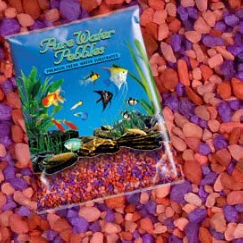 Pure Water Pebbles Nature's Ocean Aquarium Gravel Neon Fruit Delight Gravel 5lb