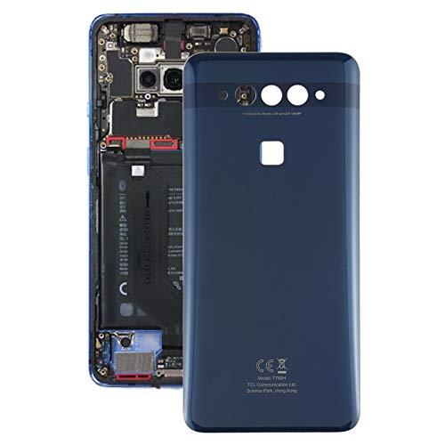CellphoneParts BZN Tapa Trasera de la batería para TCL PLEX T780H (Blanco) (Azul) (Color : Blue)