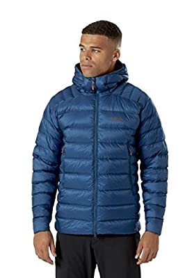 Rab Mens Electron Pro Jacket Goose Down Lightweight Warm Water-Resistant Versatile Winter Jacket