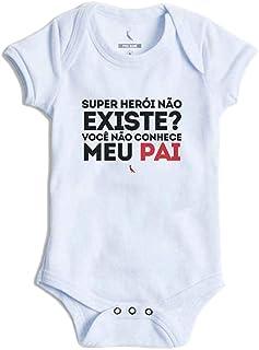 Body Bebê Super Pai Reserva Mini