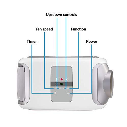 electriQ 14000 BTU Portable Air Conditioning Unit Mobile Air Conditioner and Heat Pump Energy A Plus Pus