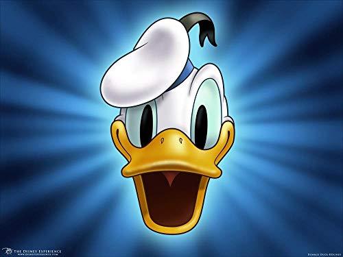 PRWJH Donald Duck Cartoon Anime-puzzel, puzzel 1000 stukjes voor volwassenen, voor volwassenen Assembleren van speelgoed Kindercadeaus Woondecoratie