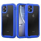 AZUOYI Compatible avec iPhone 12/12 Pro/12 Mini/Max (2020), coque de protection hybride fine...