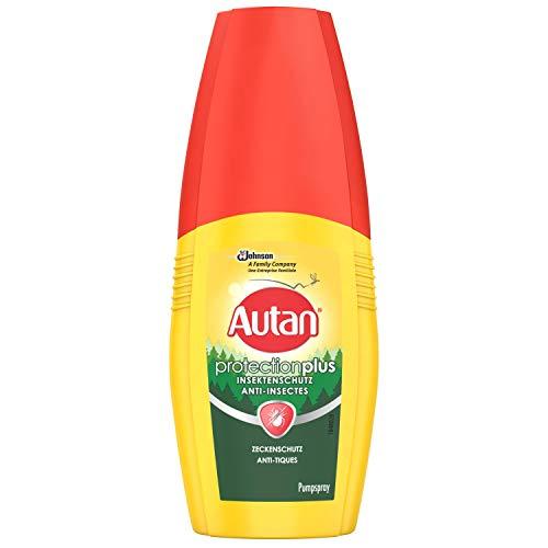 Autan Protection Plus Zeckenschutz Insektenschutz, zum Schutz vor Zecken und heimischen Mücken, 1er Pack (1 x 100 ml)