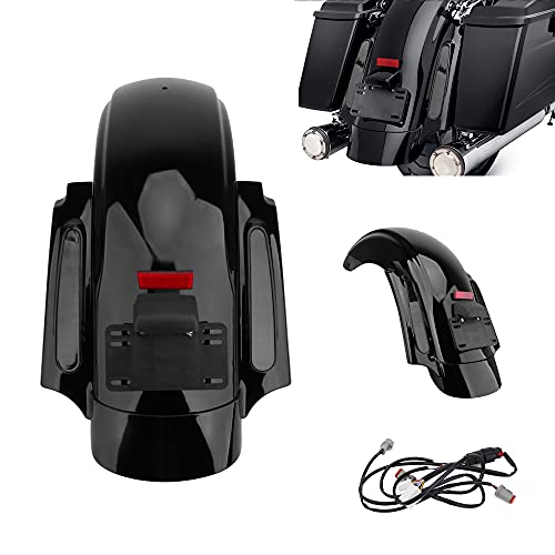 Motorcycle Fender Motorcycle Mudguards CVO Style Rear Fender Fit for Harley Touring Street Glide 09-13