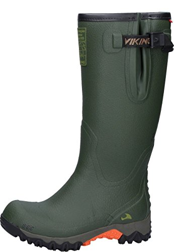 viking Force II, Unisex-Erwachsene Gummistiefel, Grün (Green), 38 EU (5 UK)