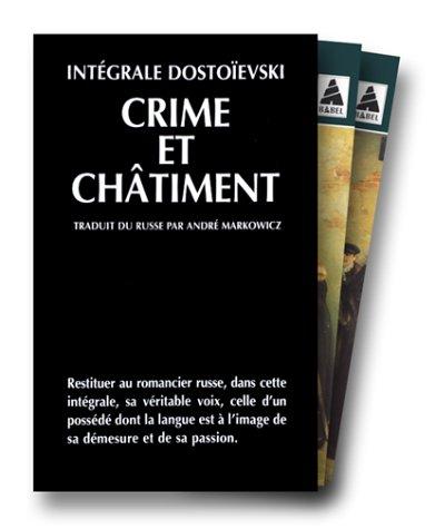 INTEGRALE DOSTOIEVSKI COFFRET 2 VOLUMES