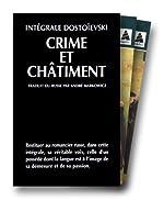 INTEGRALE DOSTOIEVSKI COFFRET 2 VOLUMES - VOLUME 1, CRIME ET CHATIMENT. Tome 1. VOLUME 2, CRIME ET CHATIMENT. Tome 2 de Fédor Dostoïevski