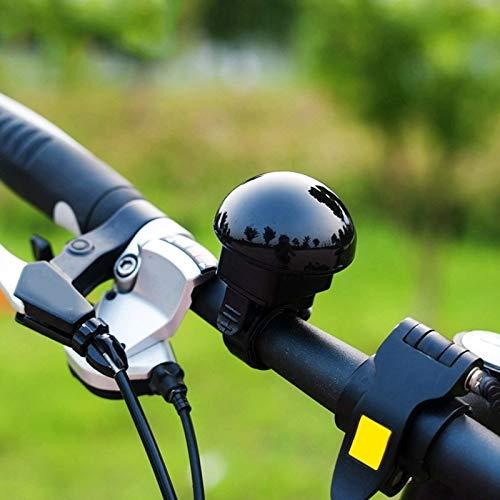 LZWOZ Mini Elektrische fiets Bell Horn Bike Ring Bell Alarm Fietsen Accessoires for MTB Road Bike Scooter (Color : Black)