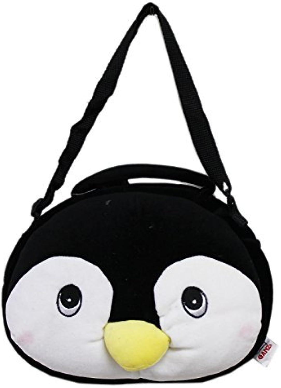Black Penguin Bagimal by Ganz Plush Purse by Ganz