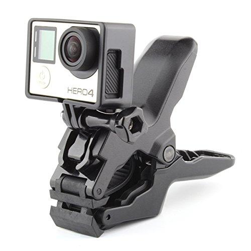 ECYC Bewegliche Kiefer Flex Clamp Stativhalterung Für Gopro Hero 5 4 Sitzung 3 SJCAM SJ4000 SJ5000 SJ6000 Xiaoyi Yi 4 Karat Kamera Access