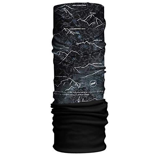 Had Original One size-8000plus Écharpe Tube Multifonction Mixte, 8000plus by Reinhold Messner-Fleece: Black, Taille Unique