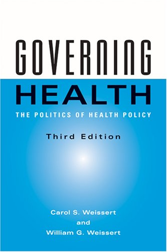 Governing Health: The Politics of Health Policy