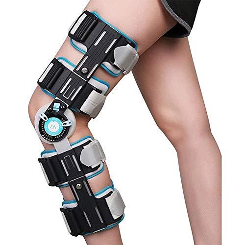 YUXINCAI Knieorthese – Verstellbare ROM Knieschiene Für Arthritis, Sehnenentzündung, Kreuzband, Sportverletzung, Arthrose, Frauen, Männer, Laufen, Meniskus- Und Patellachirurgie
