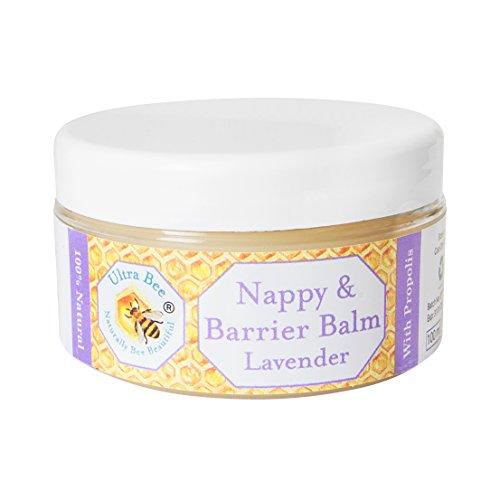 Baume 100% naturel Couche Bébé et baume de Barrière - de miel et de lavande - 100ml