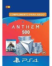 Pack de 500 cristales de Anthem | Código de descarga PS4 - Cuenta española