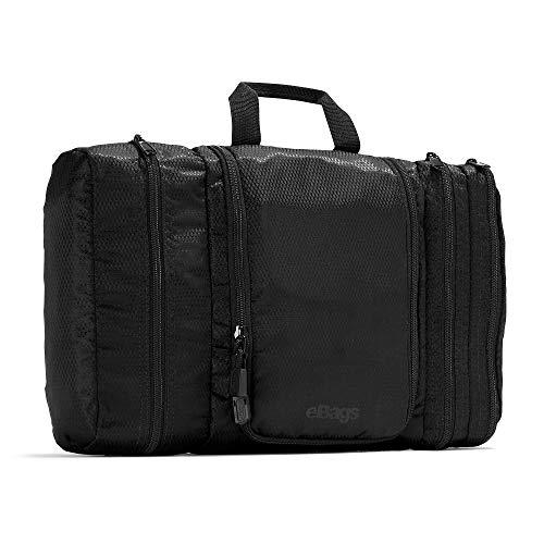 eBags Classic Large Pack-it-Flat Toiletry Kit (Black)