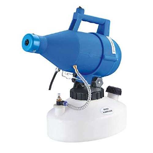 Benkeg Electric ULV Fogger Atomizador portátil de volumen ultra bajo Pulverizador Soplador de niebla fina Nebulizador de pesticida 4.5L