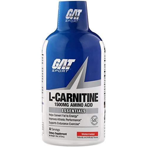 GAT L-Carnitine 1500mg Liquid Watermelon 16 oz, 280 g