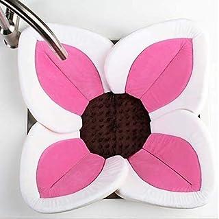 Baby Blooming Bath Mat- Lotus Flower Sink Bathtub Mat(0-12mths) (Pink)