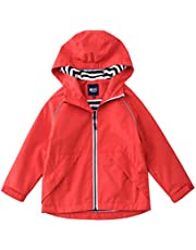 M2C ジャケット 女の子 ウインドブレーカー アウター 子供服 撥水加工 防風 防寒 アウトドア 子供