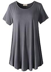 Image of LARACE Women Short Sleeves...: Bestviewsreviews
