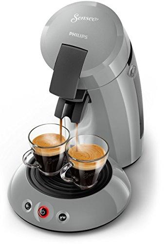 Senseo Original HD6553/70 Unabhängige Kaffeemaschine für Kaffeepads, 0,7l, 1450W, Grau