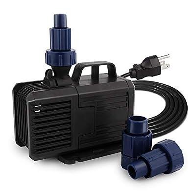 FREESEA 740-1320 GPH Ultra Quiet Water Pump for Pond, Fountain, Aquarium, Fish Thank, Statuary, Hydroponics