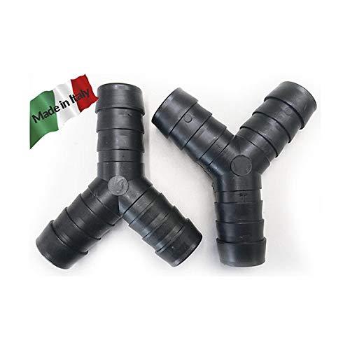 No. 2 de tres vías Y conjunta por rollo diámetro lavadora lavavajillas tubo de drenaje 19
