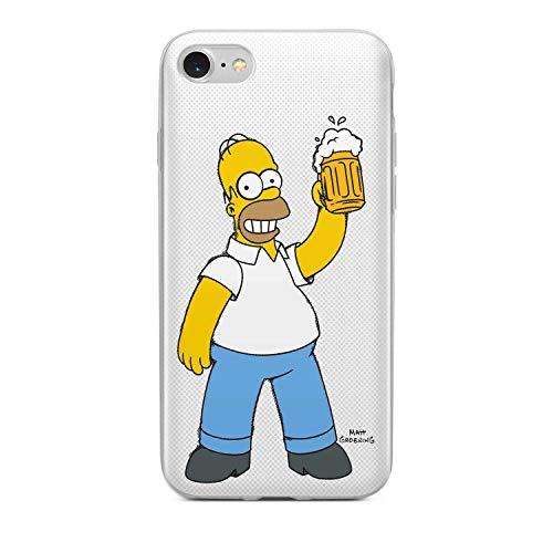 Finoo Handyhülle - Schutzhülle kompatibel mit iPhone 7/8 - Hardcase-Bumper - Transparent, Ultra-dünn und leicht - Bier Liebe