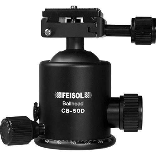 FEISOL cb-50d Kugelkopf mit Wechselplatte 144750–Schwarz