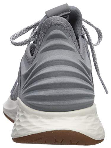 New Balance Women's Fresh Foam Roav V1 Sneaker, GUNMETAL/LIGHT ALUMINUM, 9 M US 2