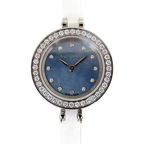 ブルガリ BVLGARI ビー・ゼロワン BZ23 ブルー文字盤 新品 腕時計 レディース (W164922) [並行輸入品]