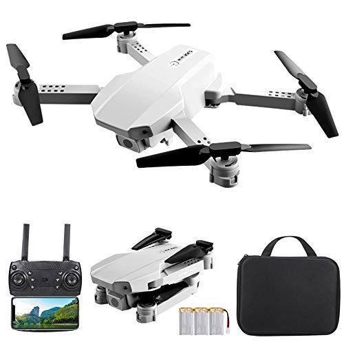 GoolRC Mini Drone with Dual Camera for Adults, KK5 WiFi FPV Drone with 4K HD Camera, RC Quadcopter with 360° Flip, Gesture Photo/Video, Headless Mode, Altitude Hold, Include Carry Bag and 3 Batteries