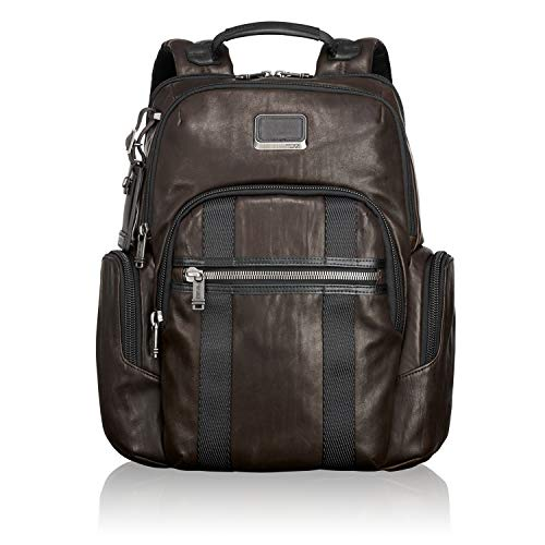 "Tumi Alpha Bravo - Nellis Laptop Mochila 15"", 40 cm, 22.3L, Marrón (Dark Brown)"