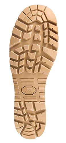 Rothco G.I. Type Sierra Sole Tactical Boots, 10, Regular, Desert Tan