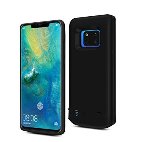 Funda de batería para Huawei Mate 20 Pro, 6000 mAh portátil de carga compatible con Huawei Mate 20 Pro, cargador de batería de respaldo extendido, soporte de batería USB Power Bank y soporte