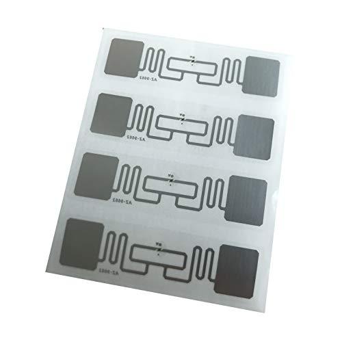 YARONGTECH rfid uhf AZ9662 ISO18000-6C Alien H3 70 x 17 selbstklebend Tag Einlage RFID Label 100 Stück/lot