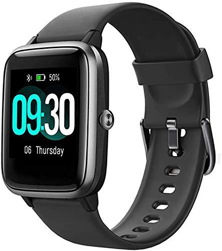 FENGJJ Smart Watch, Teléfono Móvil Android e iOS Mobile Phone Smart Watch, Reloj Inteligente Impermeable de natación IP68, Watch Smart Watch