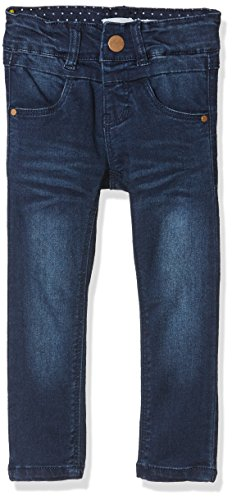 NAME IT Baby-Mädchen NKFPOLLY DNMTRILLE 3001 Pant NOOS Jeans, Blau (Dark Blue Denim), 98